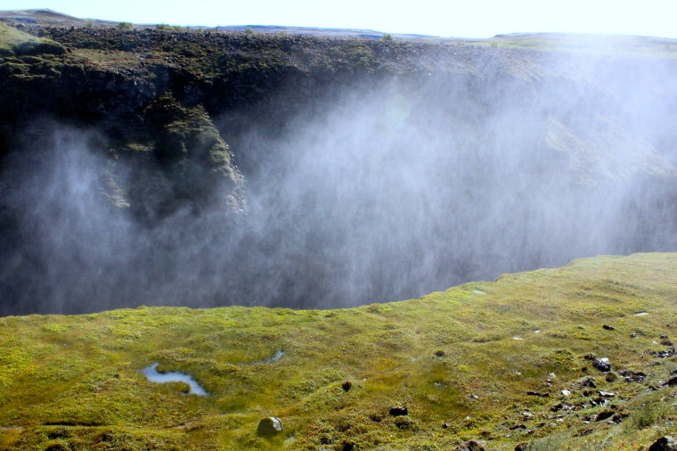 At Gulfoss