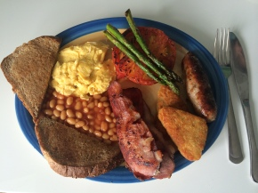 Steve's incredible fry-up
