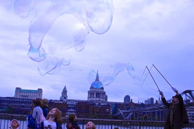 Outside the Tate Modern