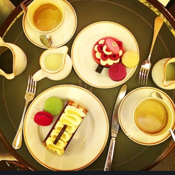 A beautiful caloriefest at Angelina's