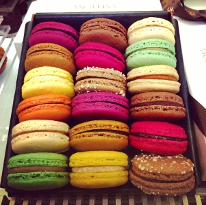 The famous French macaron