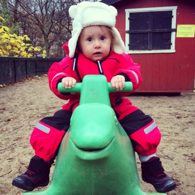 Maya at the playground