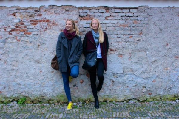 Beautiful Czech sisters