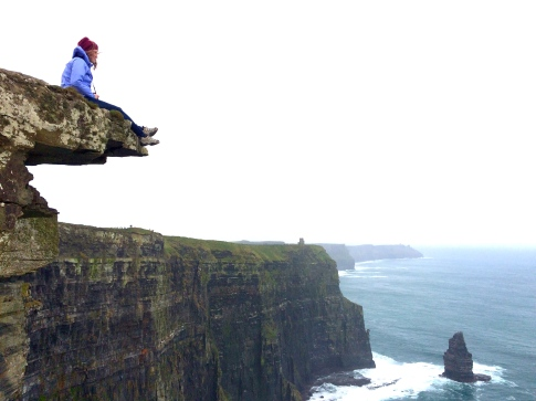 Mike took this of me at the Cliffs of Moher on our road trip in October